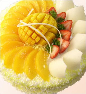 皇冠 水果蛋糕 皇冠冰淇淋